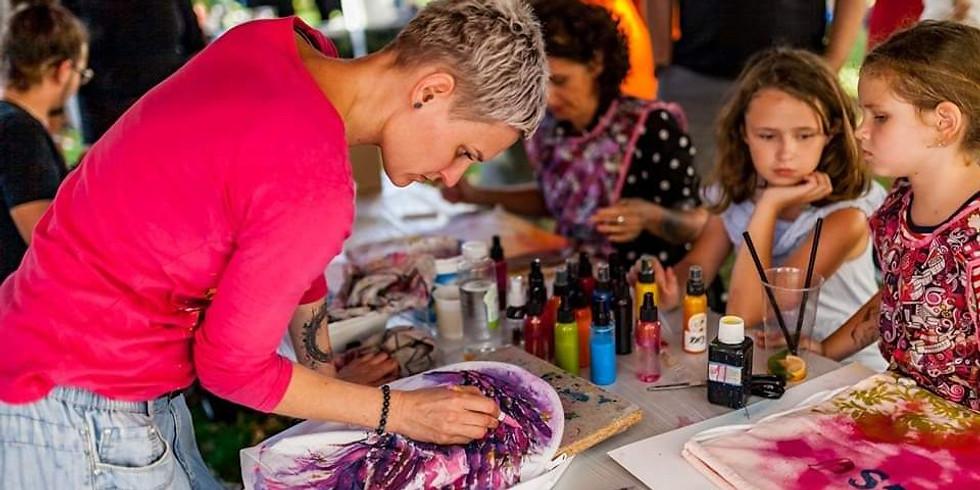 Kreativní tvoření na textil s By Terez