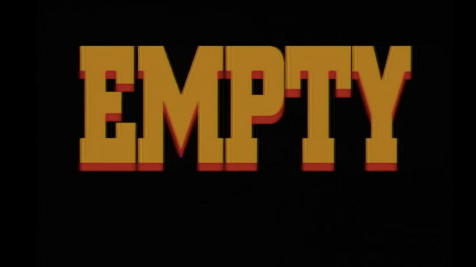 """Empty"" (Pulp Fiction Short Film)"
