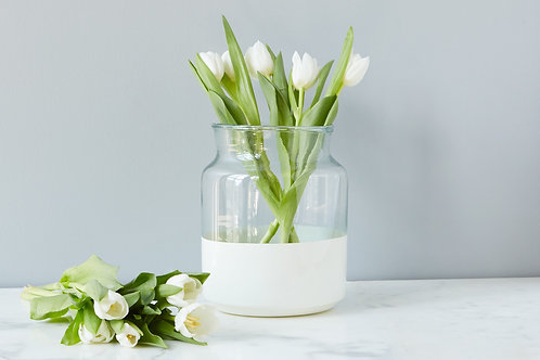 Dipped Glass Jar - Small