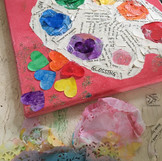 Your life is coloured like a painting by Riley Yr 6