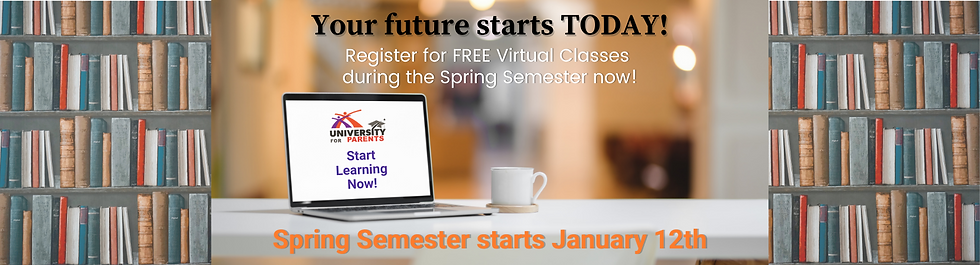 U4P Spring Semester Reg Site Banner 2020