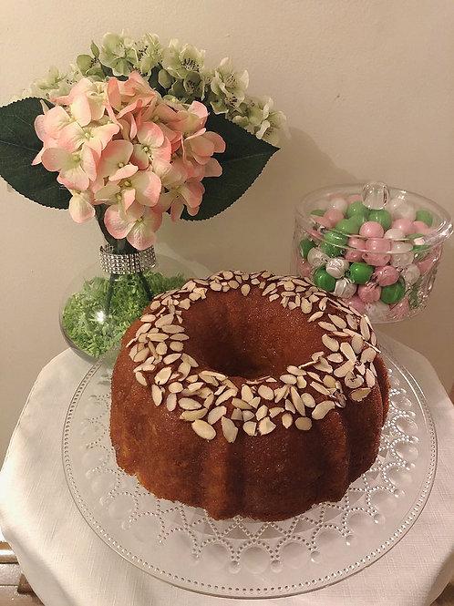 Mr. C's Almond Amaretto Cake