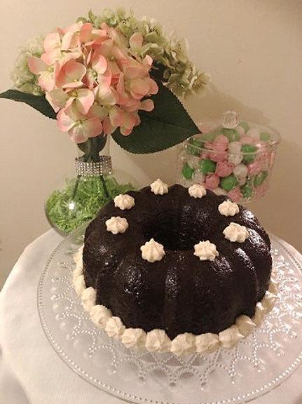 "Marlo's ""Nuttin But"" Smooth Chocolate Cake"