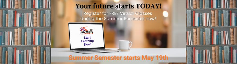 U4P Summer Semester Registration Site Ba