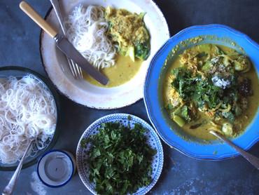 Fresh Turmeric Curry