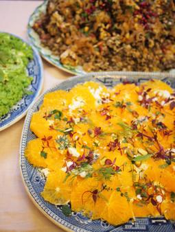 Orange + Feta Salad