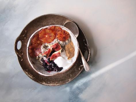 Blood Orange + Fig Breakfast Bowl