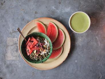 Watermelon + Granola