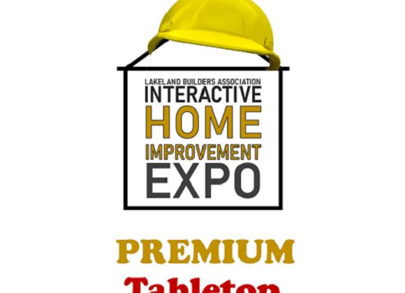 Premium INDOOR TABLETOP SPACE In-person & Virtual