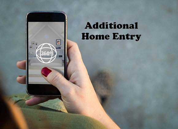 Additional HOME- Virtual tour online only