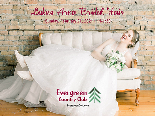 TICKET: Lakes Area Bridal Fair
