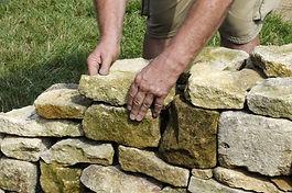 Petites maçonneries et mur à sec Blegny