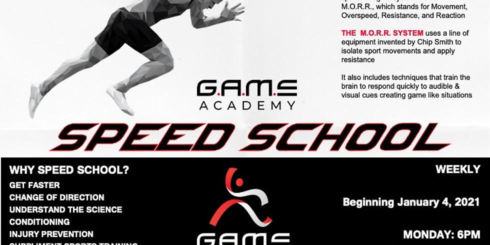 GAME SPEED SCHOOL