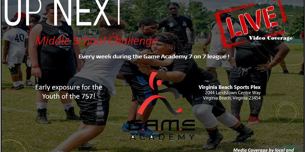 GAME Academy UP NEXT- Middle School Challenge