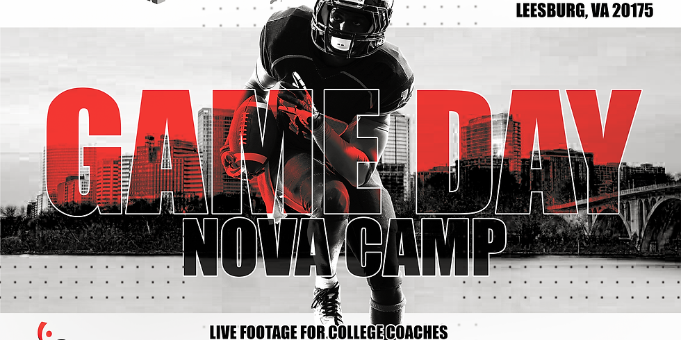 NOVA GAME DAY Camp August 22nd
