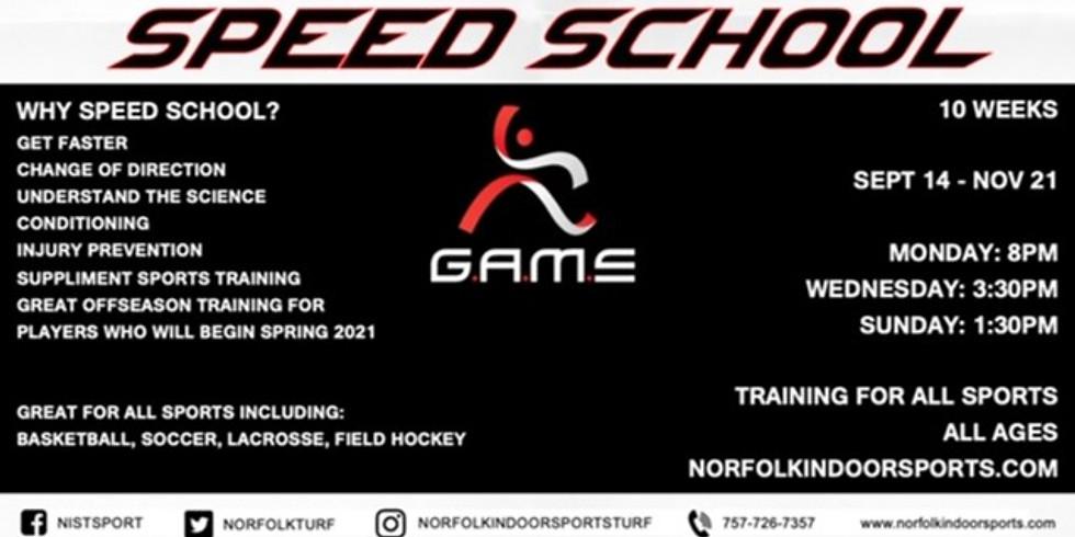 GAME Academy Speed School