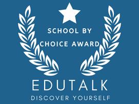 School By Choice Award