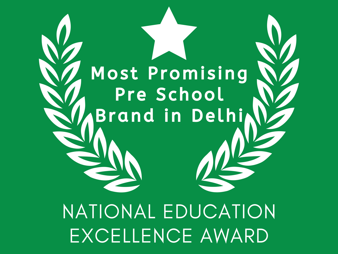Most Promising Pre School Brand in Delhi