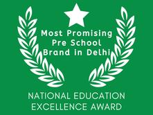 Most Promising Pre School Brand in Delhi