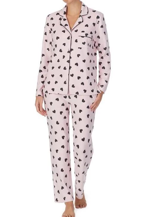 DNKY Damen Fleece Pyjama
