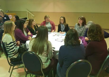 Women in Agriculture speaking Mental Health