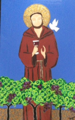 St. Francis In The Vineyard