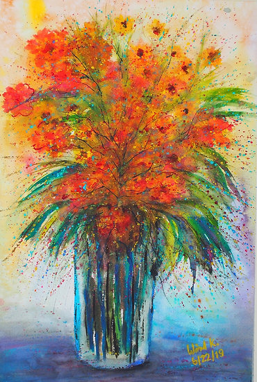 SONG OF FLOWERS - Wanida Kaewrak