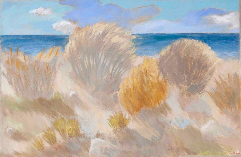Elafonisi, 70 x 106 cm, oil on canvas.jp