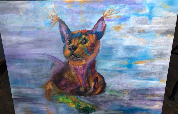 BLIND CAT HOPE - Shereen Hassan Ragab