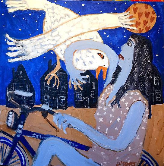 ARIEL AND HER LOVE BIRD - Brian Simons