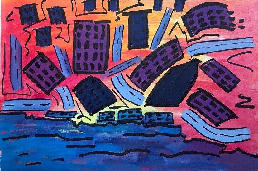 CITY LANDSCAPE - Ekaterina Sergeeva