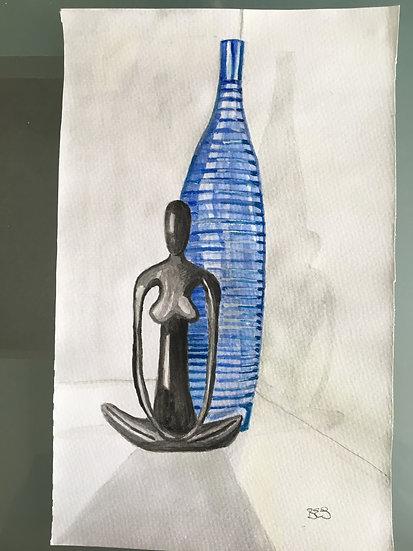 BLUE AND BLACK - Barry E Simmons
