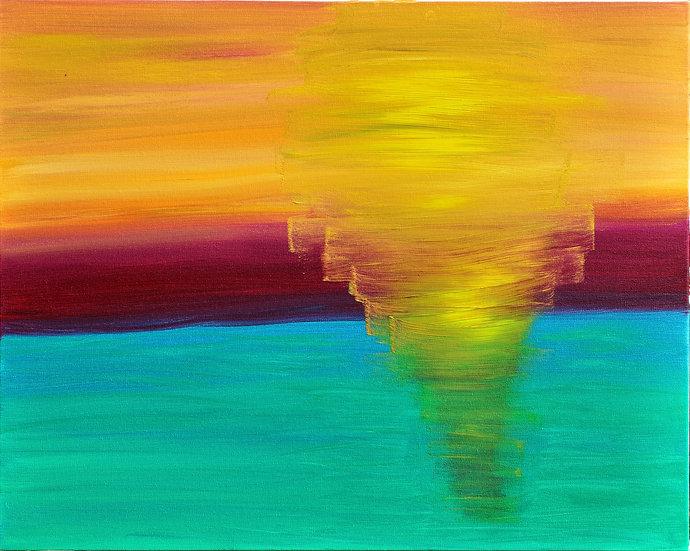 BEAUTIFUL MEETING OF WATER, AIR AND SKY - Nina Guerreiro