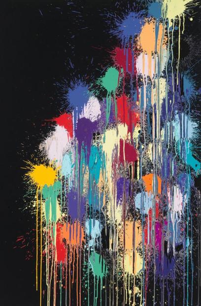 'Colour Splat Black'