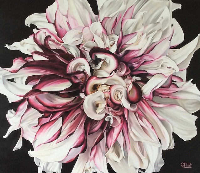 DAHLIA - Glenys Flint