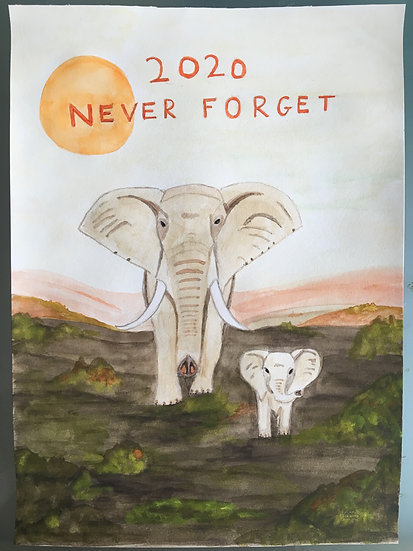2020 NEVER FORGET - Barry E Simmons