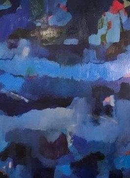 BLUE HUES - Jamie Meyers Bisel