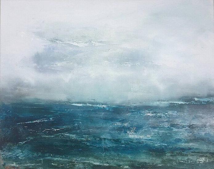 STORMY SEASCAPE-Fiona Meek