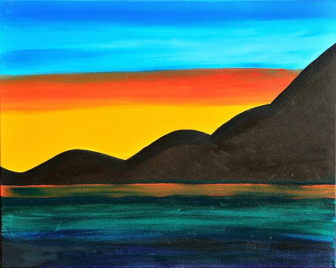 BEAUTIFUL MEETING OF THE LAND, SEA AND SKY - Nina Guerreiro