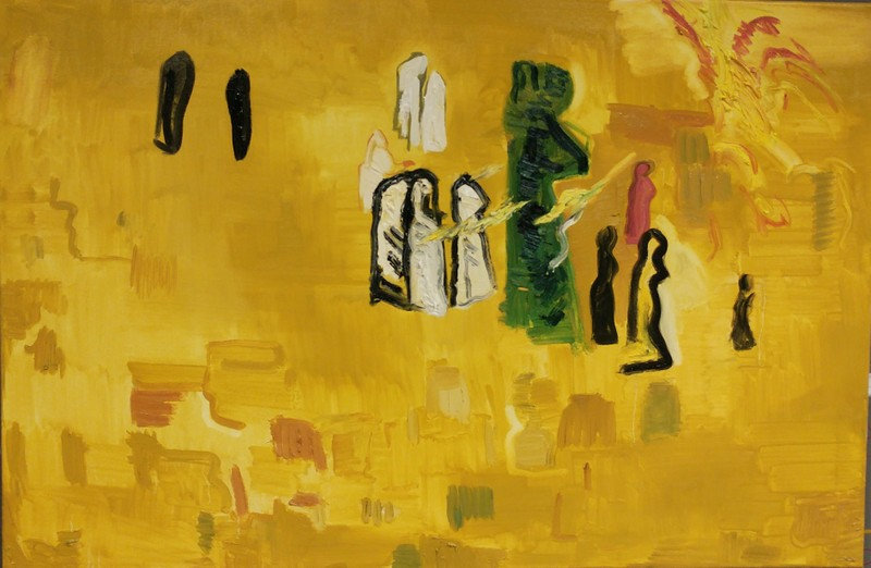 A RAY OF LIGHT IS FALLING ON THE KOTEL- Roza Horowitz