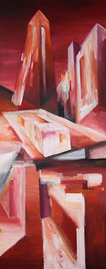 ABSTRACT PAINTING 10 - Juergen Bauer Malerei