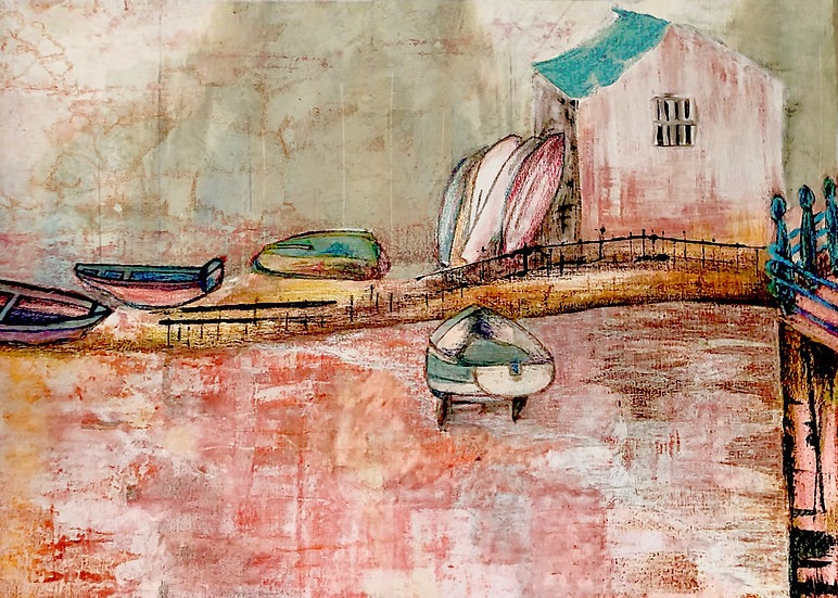 STAITHES HARBOUR OFFICE - Jane Clarbour