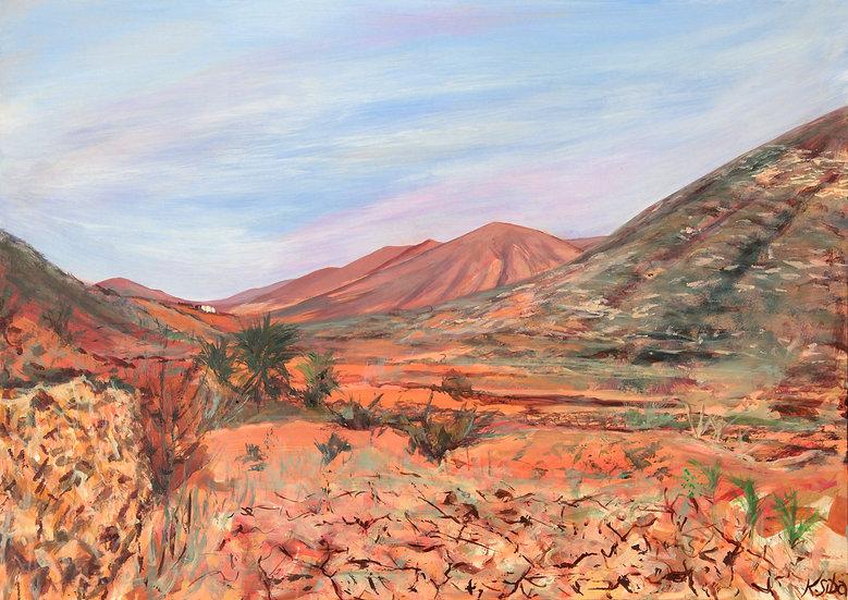 FUERTEVENTURA'S DESERT LAND  - Karina Siba