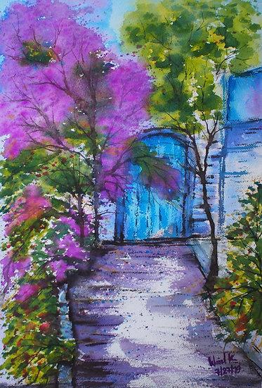 ROAD OF FLOWERS - Wanida Kaewrak