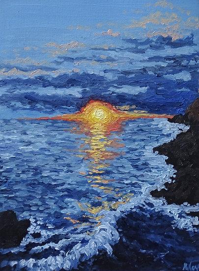 SUNSET ON SEA - Nora Miles