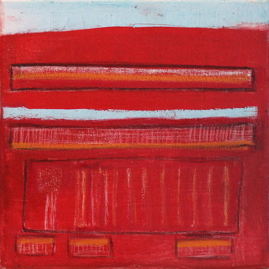 STUDY IN RED -  Suzi Caffreys