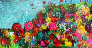 SPRING FLOWERS 2  - Kelly Leonard