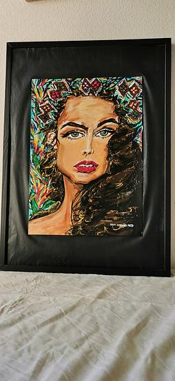 LE PRINTEMPS - Saba Coquillard art