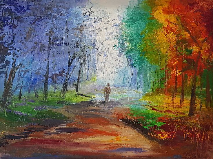 INTO THE FOREST - Debi Garrett