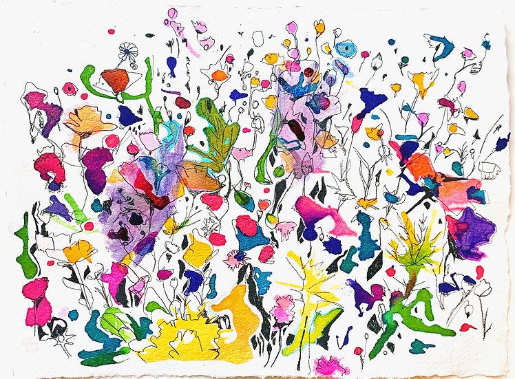 WILDFLOWER MEADOW - Ruth Egon